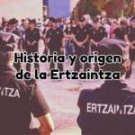 Historia Origen Ertzaintza